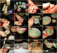 El Tintero de Mamá: Como elaborar una cajita de serpentina #DIY