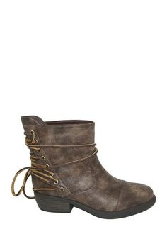 Lucena Eyelet Bootie by Non Specific on @HauteLook