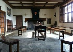 elizabethan furniture | Furniture was fairly simple for all but the very wealthy, simple ...