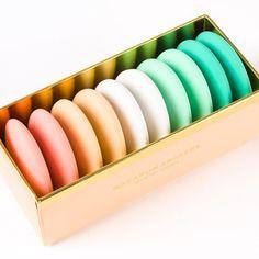 Macarons Eraser Set (Set of 10)