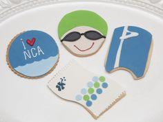 Swimming cookies