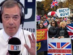 Farage admits he feels EVEN MORE passionate about Brexit NOW than during the referendum Nigel Farage, Politicians, Feels, Sunday, Passion, Domingo