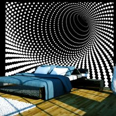 murando Wall mural 350 270 cm non-woven wallpaper Modern wall decoration design wallpaper 3d Wallpaper Mural, Photo Wallpaper, Wallpaper Ideas, 3d Wall Murals, Pattern Wallpaper, Bedroom Decor, Wall Decor, Paint Designs, Decoration