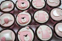 Cupcakes festa do pijama