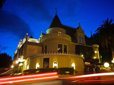 The Magic Castle, home of the Academy of Magical Arts, sits on Franklin Avenue, just behind the Hollywood and Highland Center.