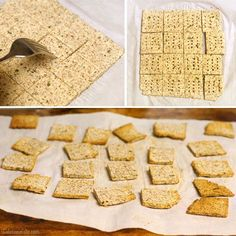 Easy Almond Pulp Crackers. YAYYY!!!! It's back to making almond milk for me! You can even save the wet pulp in the refrigerator for several days if you don't have time to make the crackers immediately. Gonna so try this this weekend! I have rosemary in my windowsill, so probably will use that and maybe throw in some extra garlic and some chives, too...