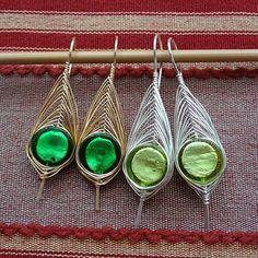 Herringbone Leaf Earrings Jewelry Tutorial