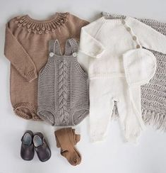 trendy ideas for baby clothes knitted ideas Baby Outfits, Kids Outfits, Baby Girl Romper, Baby Dress, Romper Pattern, Trendy Baby Clothes, Girls Rompers, Baby Wearing, Baby Knitting
