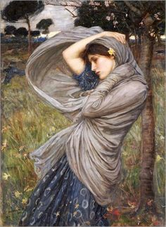 John William Waterhouse - Boreas, 1903