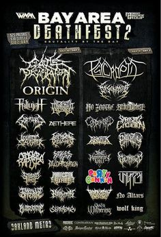 People Love This Death Metal Band's Extremely Colourful Logo