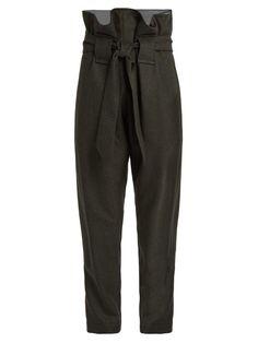 Vivienne Westwood Anglomania Kung Fu slim-leg wool trousers