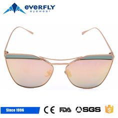 f759e961e51 New design womens polarized sunglasses factory super thinner curved end  piece cat eye sunglasses wholesale in China