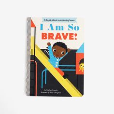 I Am So Brave! Books are always a lovely gift for kids. Baby shower gift ideas.