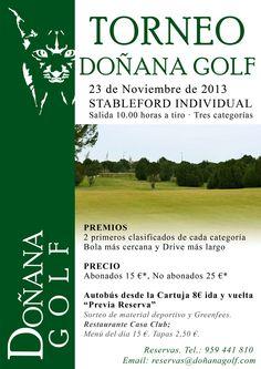 Torneo Doñana Golf