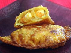 Empanadillas de langostinos