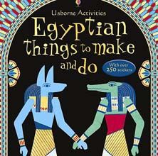MAKE ~ Ancient Egyptian Mummy and Case based on this Usborne  book.  ~ U.K. Museum
