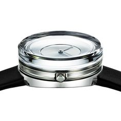 Tokyo-based designer Tokujin Yoshioka adds another watch design to his portfolio of timepieces for Issey Miyake with the Glass Watch.