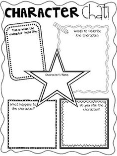 34 pgs Stupendous Story Elements Graphic Organizers - FREE!