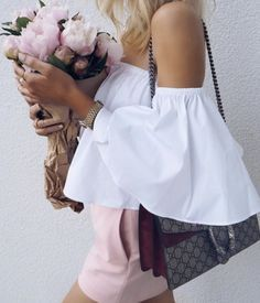 Pink+flower+ style