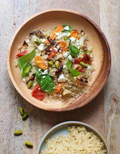 Quinoa aux légumes et pistaches pour 6 personnes - Recettes Elle à Table