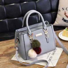 Luxury Handbag Women Bags Women Hairball Shoulder Bag Ladies Hand Bags Vintage Leather Messenger Bag Female Hand Bolso Bags – Purses And Handbags Diy Cheap Purses, Cheap Handbags, Handbags Michael Kors, Purses And Handbags, Leather Handbags, Luxury Handbags, Luxury Purses, Cheap Bags, Handbags Online