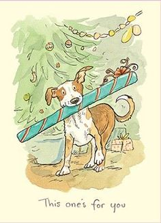 Anita Jeram Christmas Cards Two Bad Mice Trade - Supplying High Quality cards from Contemporary Artists to the Trade. Anita Jeram, Photo Images, Children's Book Illustration, Caricatures, Christmas Art, Dog Art, Belle Photo, Cute Drawings, Penny Black