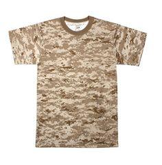 Kids Desert Digital Camouflage T-Shirt  #kids #desertdigital #camouflage #digital #marines #marinecorps