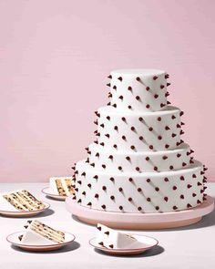 Chocolate Chip Cookie Cake Recipe   Martha Stewart Weddings
