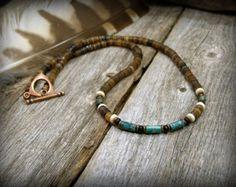 Turquoise Bracelet Multi Strand Bracelet by StoneWearDesigns