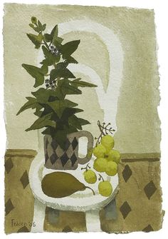 Mary Fedden | Still Life on Chair