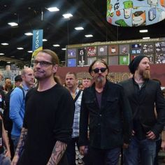 SoA at 2012 Comic Con Kurt Sutter, Tommy Flanagan, and Ryan Hurst