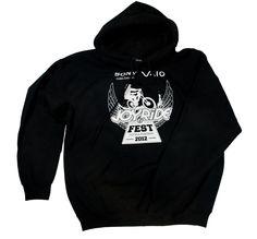 Joy Ride Fest 2012 mens hoodie