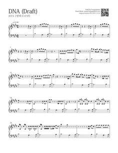 BTS - DNA | Free Piano Sheet | Funguypiano