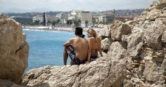 Feel all kinds of stylish soaking up the sun in Nice