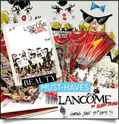 Alber Elbaz puts on a show for #Lancôme  http://www.sandrascloset.com/alber-elbaz-puts-on-a-show-for-lancome/