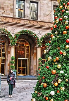 Christmas Time at the New York Palace