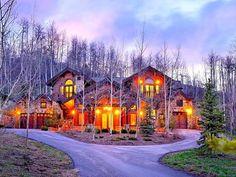 Unique Ski-in/Ski-out Home at 1201 Tiehack Road in Aspen Colorado - Luxury ski homes