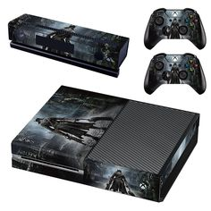 Faceplates, Decals & Stickers Xbox One X Unsc Skin Sticker Console Decal Vinyl Xbox Controller