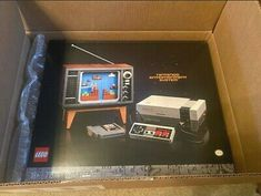 Lego Super Mario: Nintendo Entertainment System (71374). New: In-Hand. Lego Super Mario, Nintendo, Geek Gear, Kit, Entertainment System, Arcade Games, Entertaining, Ebay, Funny