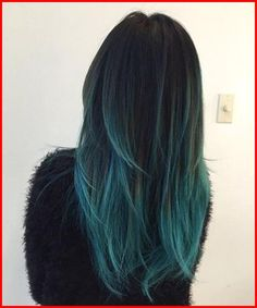 Turquoise Blue Ombre Hair Color Turquoise Blue Ombre Hair Color, Blue ombre hair looks especially stunning and ensures that you become the center of attention in every room you walk into. And with the sudden advent …, Blue & Purple Hair Color Dark Blue, Turquoise Hair Color, Green Hair Colors, Ombre Hair Color, Hair Color Balayage, Cool Hair Color, Blue Ombre, Teal Green, Blue Green Hair