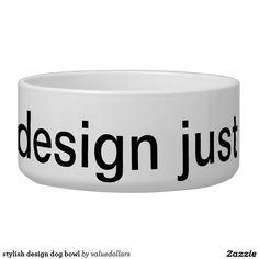 stylish design dog bowl