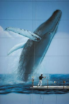 Wyland art - an extraordinary paint-artist of sea mammals and seascapes with various galleries in Key West, Miami, Hawaii and California.