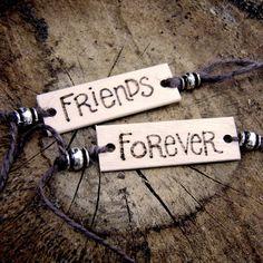 A different kind of friendship bracelet