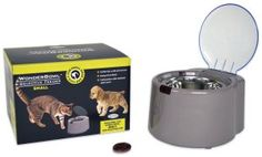 WonderBowl Selective Pet Feeder Station  - Perfect for multi-pet homes - Keeps food fresh - Prevents kids and unwanted pets from getting to pet's food - Adapters and additional tags sold separately - Batteries not included  BUY NOW --> http://amzn.to/1VXGgr1  MORE DOG FEEDING GADGETS --> http://mypetgadgets.com/dog-gadgets/dog-feeding-gadgets/  #Dogs #DogFeeding #DogFeedingStations #DogFeedingGadgets