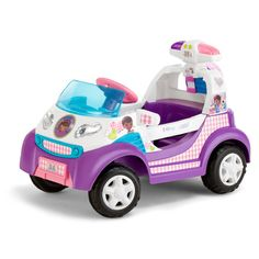 The Disney Doc McStuffins Battery Powered Ride-On is ideal for little ones as they grow more adventurous. Kids can ride the Doc McStuffins ride-on indoors or out. Disney Doc McStuffins Toy Rescue Ambulance Battery Powered Ride-On. Disney Rides, Disney Toys, Disney Stuff, Toys For Girls, Kids Toys, Baby Toys, Doc Mcstuffins Toys, Vinyl Storage, Ballet Dancers