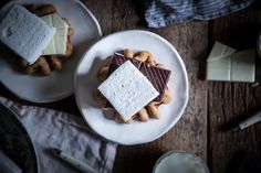 Local Milk | brown butter & graham cracker waffle s'mores (a.k.a. s'morffles)
