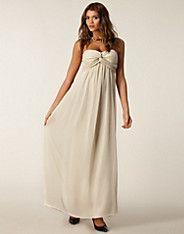 Dreamy Exclusive Dress - NLY Trend - Beige - Festklänningar - Kläder - NELLY.COM