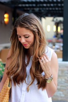 Top Hairstyles 2018 ideas are here for you. To give your personality an ultimate top rated look, try out these Top Hairstyles 2018 then! These Top Hairstyles 2018 for Women are Most Admired Hairstyles And Have Got Viral In No Time. Good Hair Day, Love Hair, Great Hair, Gorgeous Hair, Easy Side Braid, Lange Blonde, Homecoming Hairstyles, Cornrows, Hair Today