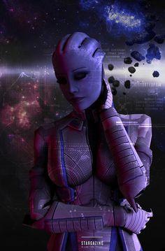 Liara T'Soni Human by meu-iskander on DeviantArt