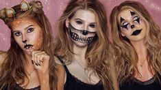 5 EASY LAST MINUTE HALLOWEEN MAKEUP LOOKS 2017!